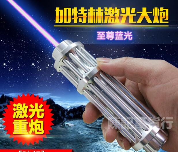Últimas 5in1 punteros azules militares del laser del poder 100000 M 450nm quema partido/papel/madera seca/vela/ negro/quemar cigarrillos
