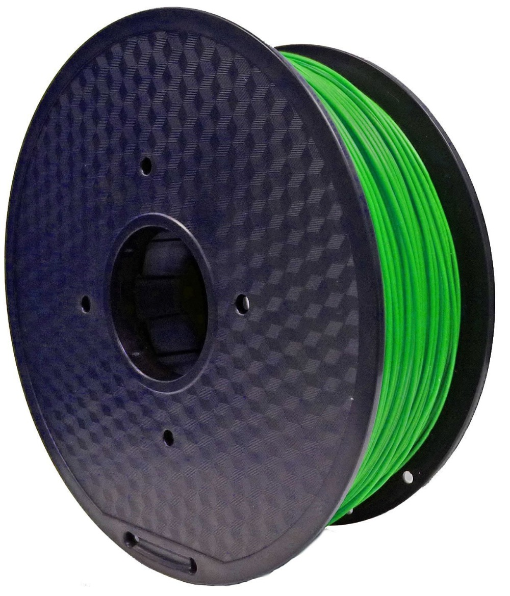 HIC 1.75mm Green PLA 3D Printer Filament - 1kg Spool (2.2 lbs) - Dimensional Accuracy +/- 0.05mm