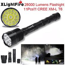 SP 14 Mosunx Business 2016 Hot Selling XLightFire 30000 Lumens 12x CREE XML T6 5 Mode 18650 Super Bright LED Flashlight