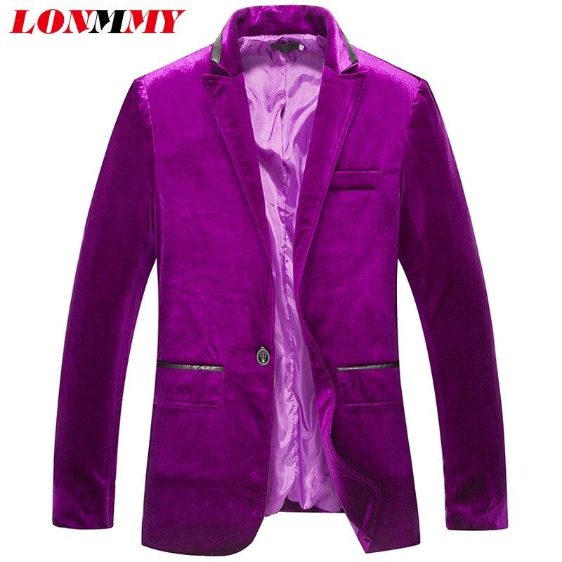 A Smoking Abiti Mens Red purple Di Slim Abbigliamento Del Sportiva Coste  Velluto Black Fit Cerimonia Modo Per Nuziale Lonmmy Giacca Uomini ... 99d3adbd699