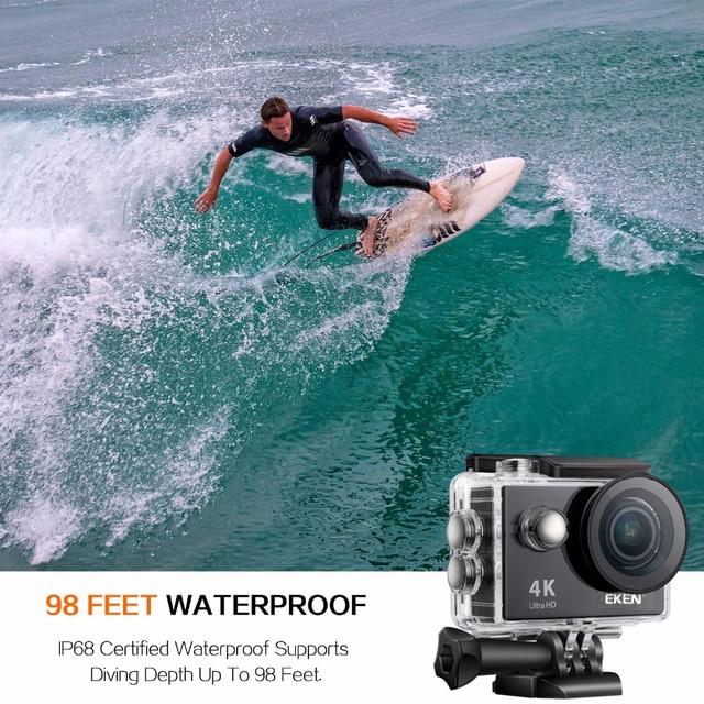 Original EKEN H9 H9R Ultra HD 4K 25fps Action Camera 30m waterproof 2-inch LCD Screen Wi-Fi Remote Gopro Style Sports Camera 2