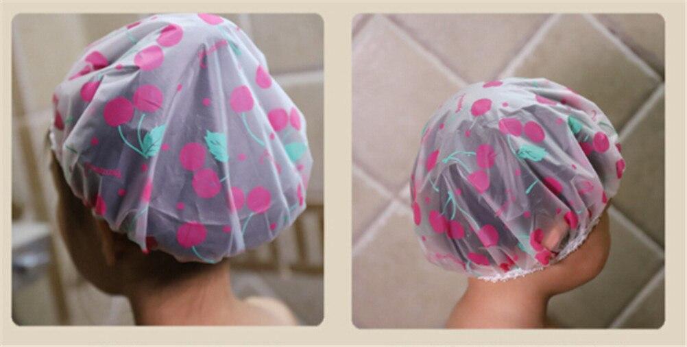 Children Bathing Shower Cap Hat Kids Cute Shampoo Shower Bathing Bath Hat For Baby Wash Hair Shield