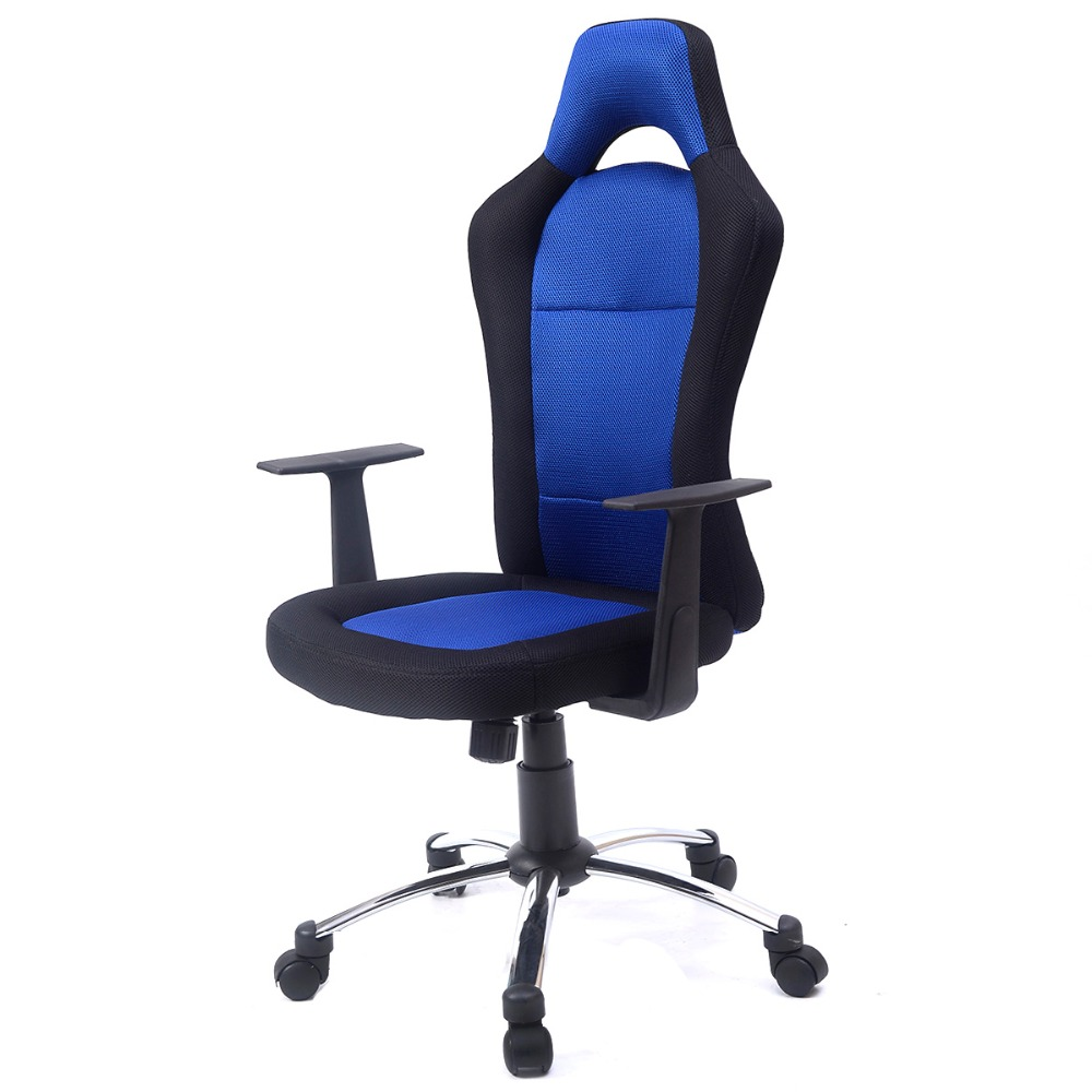 2016 New Hight quality 3 colors PU Leather High Back Office Chair Executive Task Ergonomic Computer Desk  CB10049BL 240311 high quality pu leather computer chair stereo thicker cushion household office chair steel handrails