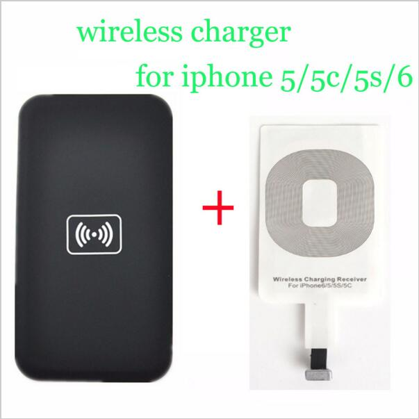 portable qi wireless charging kit charger adapter receptor. Black Bedroom Furniture Sets. Home Design Ideas