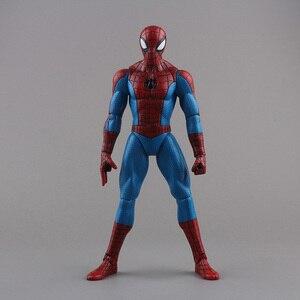 "Image 1 - ของเล่นSpiderman Superhero The Amazing Spider Man PVC Action Figureของเล่นสะสม8 ""20ซม"