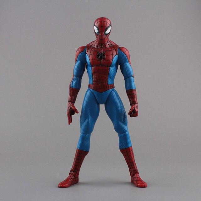 """ของเล่นSpiderman Superhero The Amazing Spider Man PVC Action Figureของเล่นสะสม8 """"20ซม"""