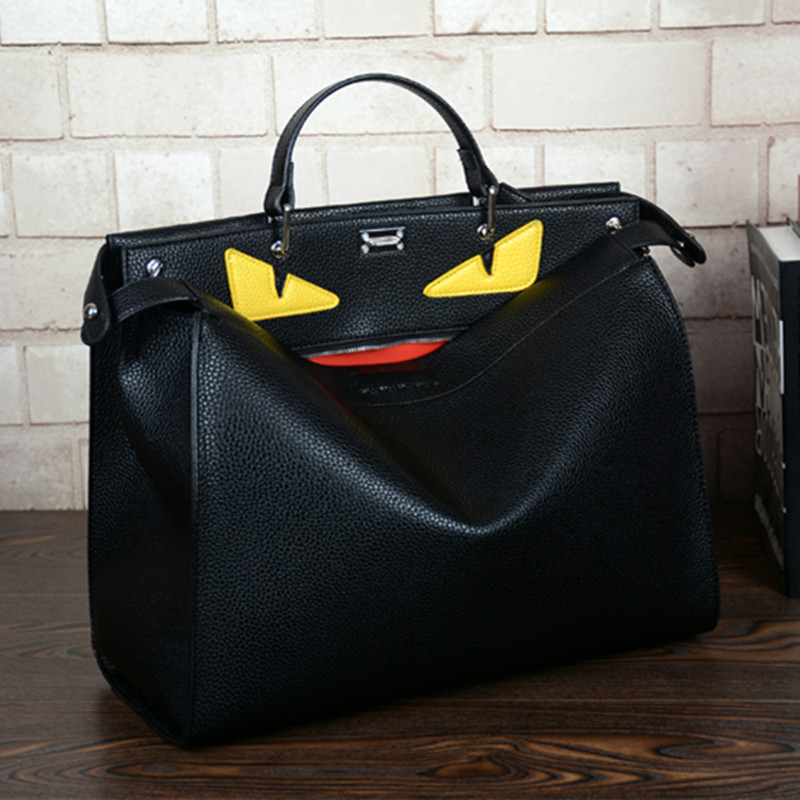 все цены на New Devil Unisex Fashion Business Handbag High Quality Men's Laptop Bags Shoulder Bag Ladies Office Handbag Women Work Purses онлайн