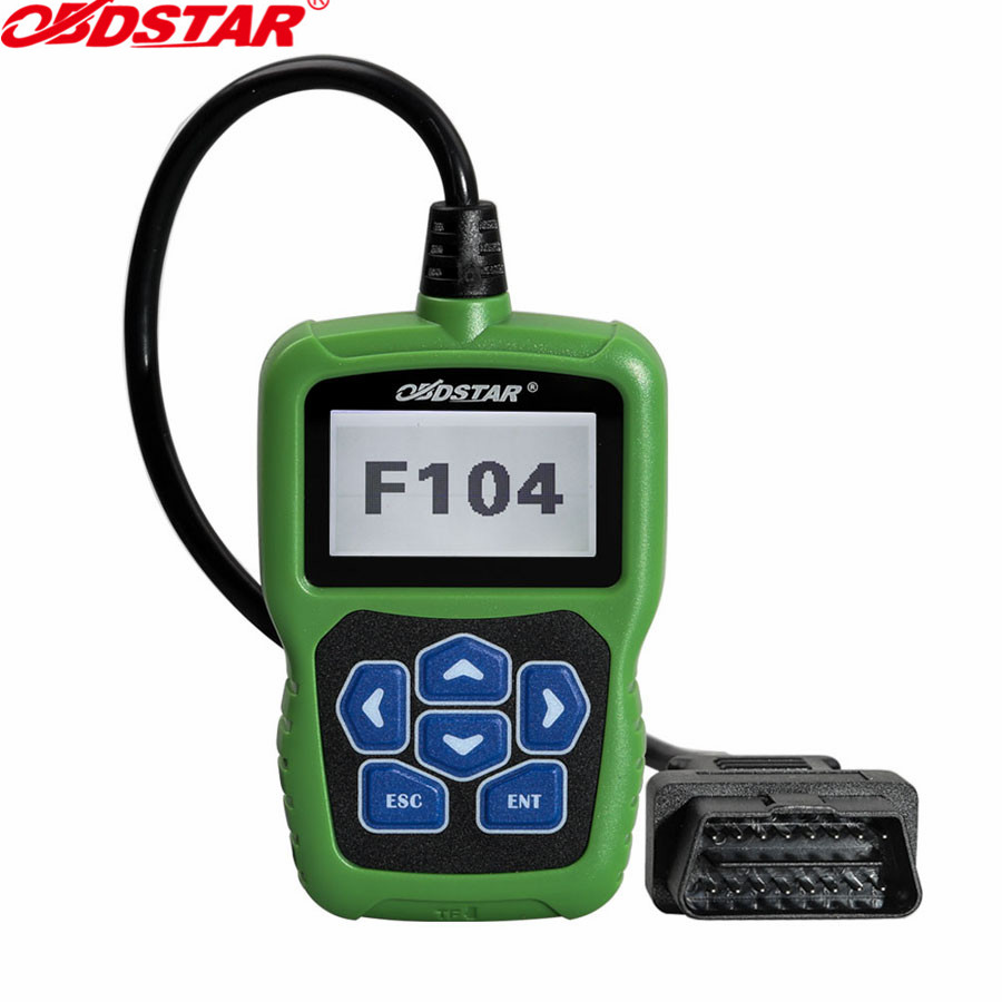 OBDSTAR F104 Key Programmer for Chrysler/Jeep/Dodge with Odometer and Pin Code Reader Function OBDSTAR F104 original obdstar vag pro auto key programmer no need pin code support new models and odometer vag key programmer free shipping