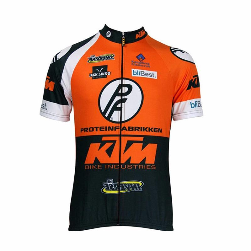 Cyclisme jersey 2018 Pro KTM d'été à manches courtes ropa ciclismo hombre sport vtt vélo vêtements maillot vélo chemises G25