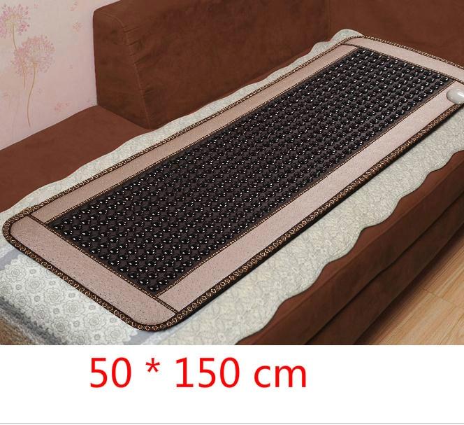 Jade germanium stone sofa cushion ms tomalin jade massage mattress heating pad germanium stone care body massager 2016 natural heating germanium thermal massage cushion massage mattress health care 3 size for you choice