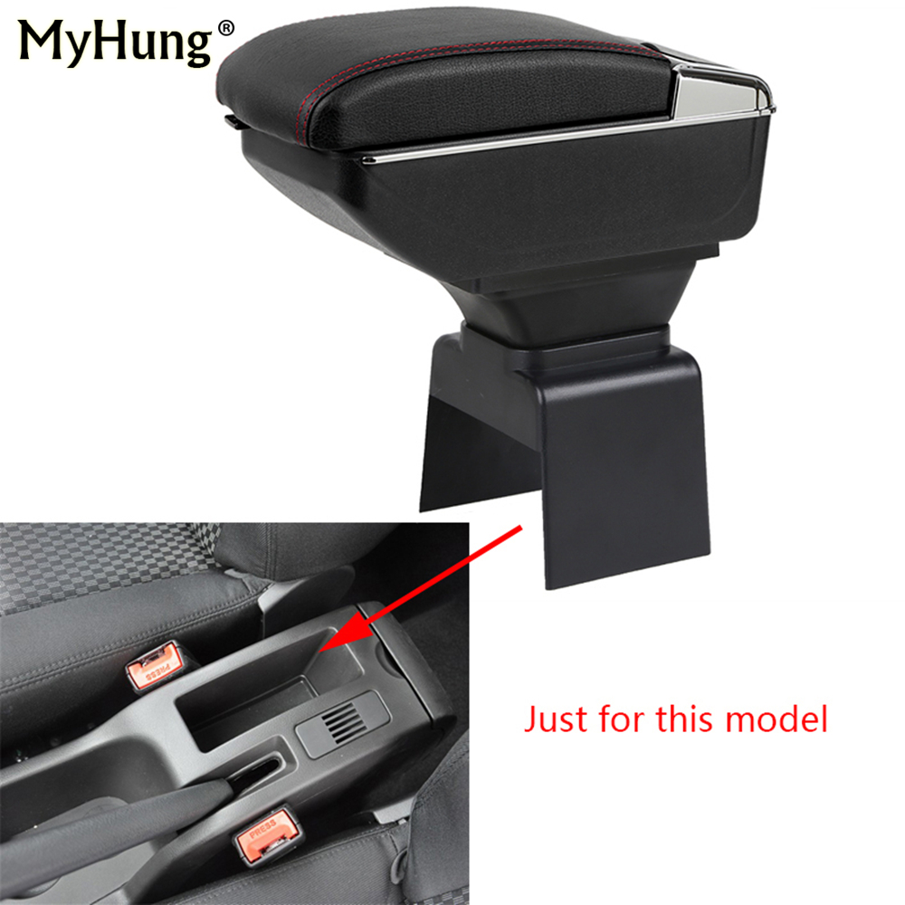 For Peugeot 307 2004-2013 Armrest box Central Console Arm Store content box cup holder ashtray With Rise and Down Function Part universal leather car armrest central store content storage box with cup holder center console armrests free shipping
