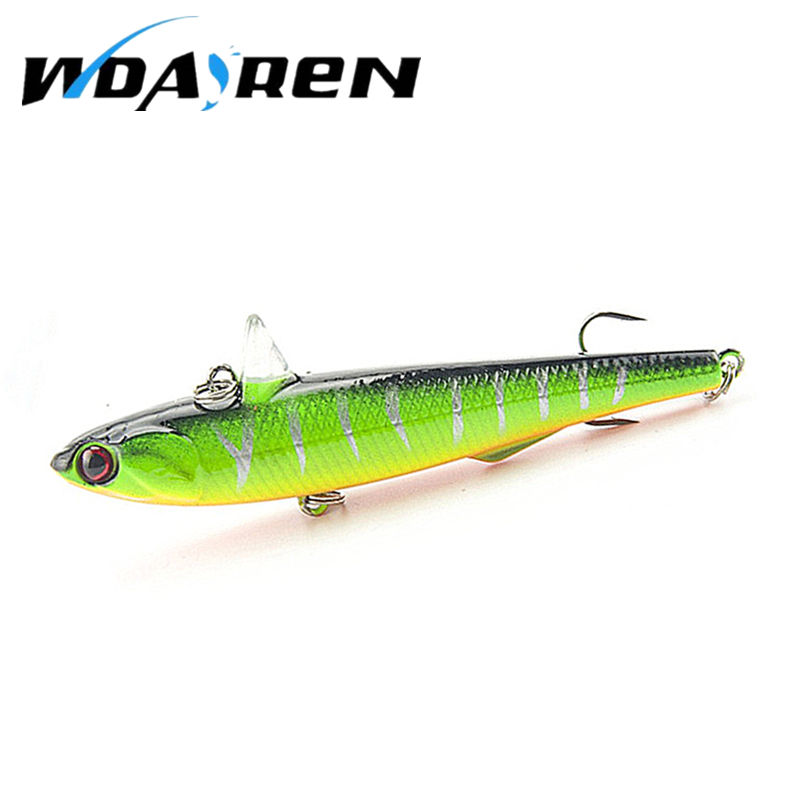 1pcs Winter Fishing Hard Bait VIB With Lead Inside Ice Sea 14.5g 9cm Fishing Tackle Diving Swivel Jig Wobbler Lure FA-269 brand new 1pcs winter fishing lures hard bait vib with lead inside lead fish ice sea fishing tackle swivel jig wobbler lure best