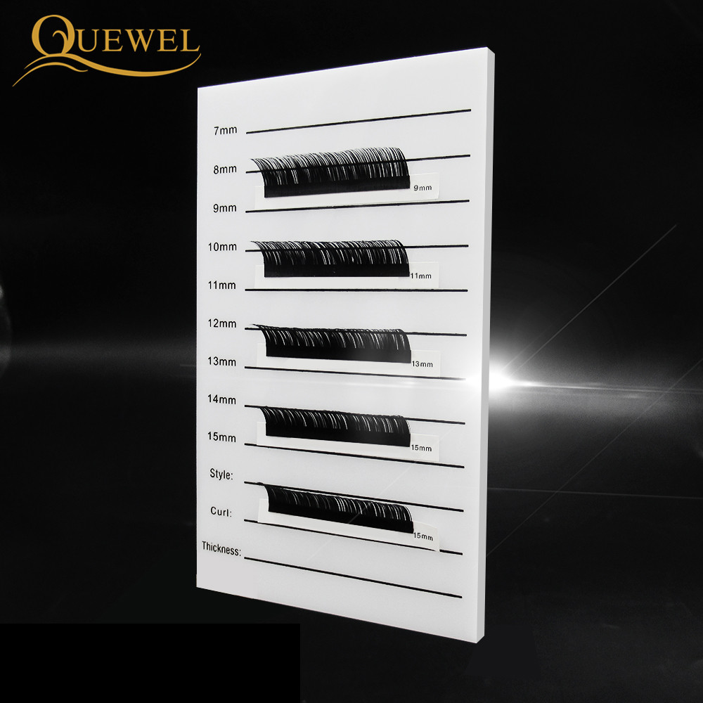 Image 5 - Eyelash Acrylic Lash Pallet Individual Eyelash Tile Palette Adhesive Glue Ceramic 5 Pieces Holder New Eyelash Extensions Tools-in False Eyelashes from Beauty & Health