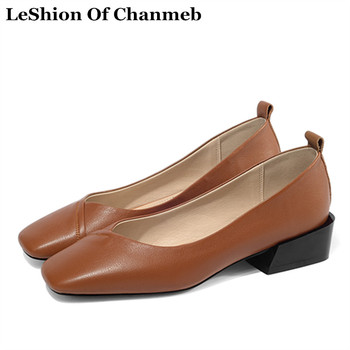 2019 Top Quality Soft Cow Leather Flats Women Larger Size 43 Comfortable Ederly Shoes Ladies Casual Flat Loafers sapato feminino