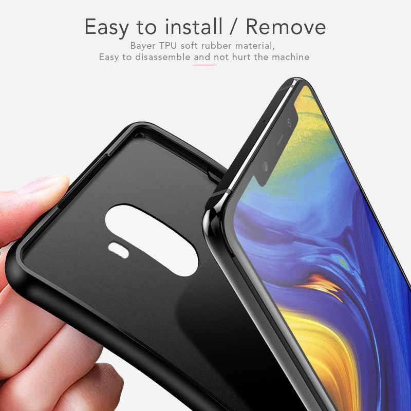 For Pocophone F1 Case Back Cover Cases For Pocophone F1 Capa for Xiaomi Redmi Note 7 6A 7A 6 5 K20 Pro Mi 8 Lite 9 9T SE case