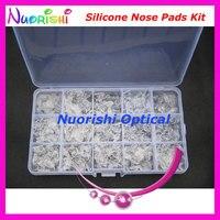 Hsi15 com 15 diferentes tipos óculos de nariz almofadas de Silicone
