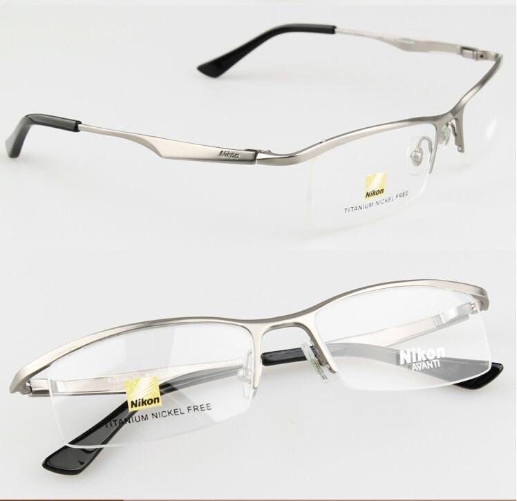 Nikon 9880 Sports Eyewear tr90 100% Titanium Myopia Glasses Frame ...