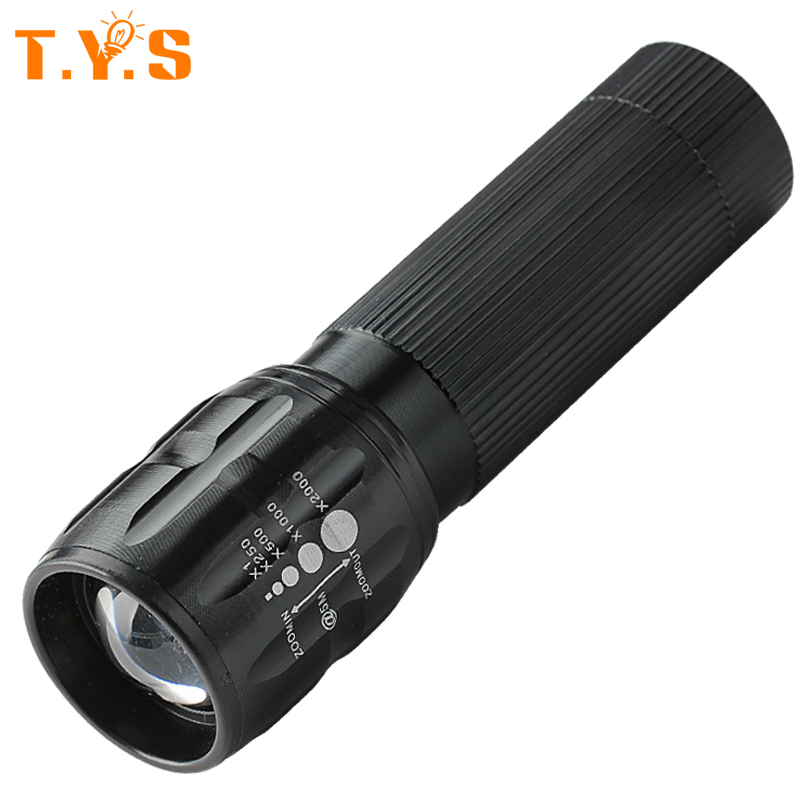 High Power Torch Zoomable mini LED Flashlight Torch Light For Camping Torch lanterna Waterproof Powerful 3*AAA Floodlight high power led flashlight lamp 3 aaa batteries led torch zoomable mini torch lighting light for camping hiking 18020