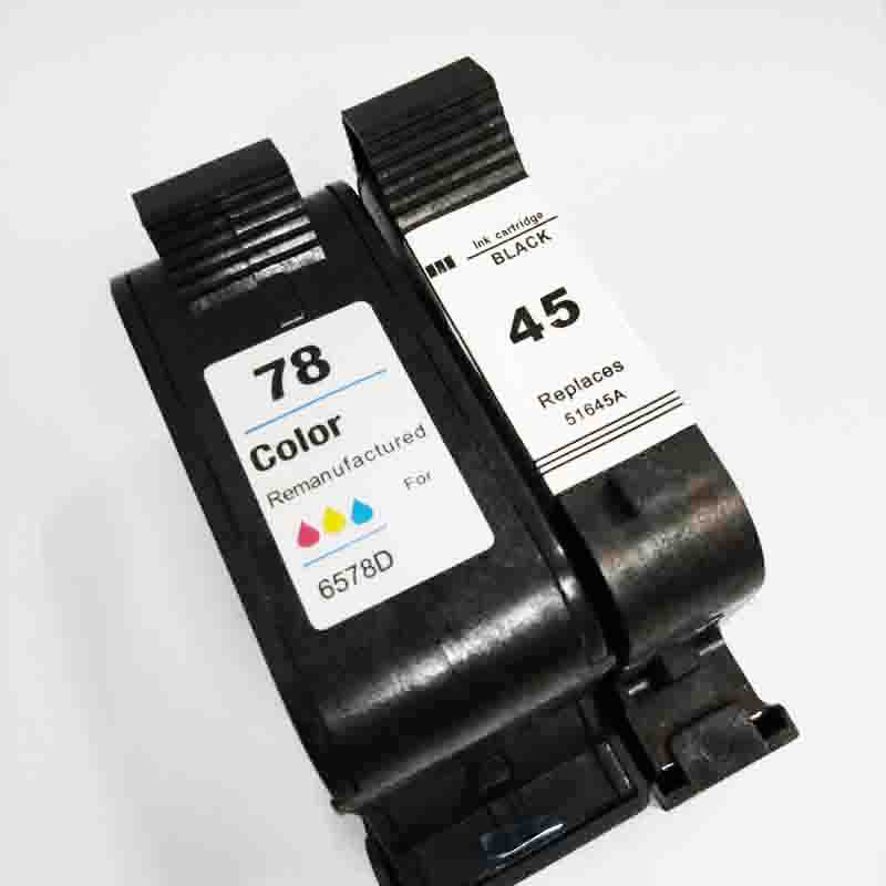 vilaxh 45 78 Compatible Ink Cartridge Replacement for HP 78A 45A 51645A C6578A For Deskjet 1120c 1125c 1180c 1220c 9300 Printervilaxh 45 78 Compatible Ink Cartridge Replacement for HP 78A 45A 51645A C6578A For Deskjet 1120c 1125c 1180c 1220c 9300 Printer