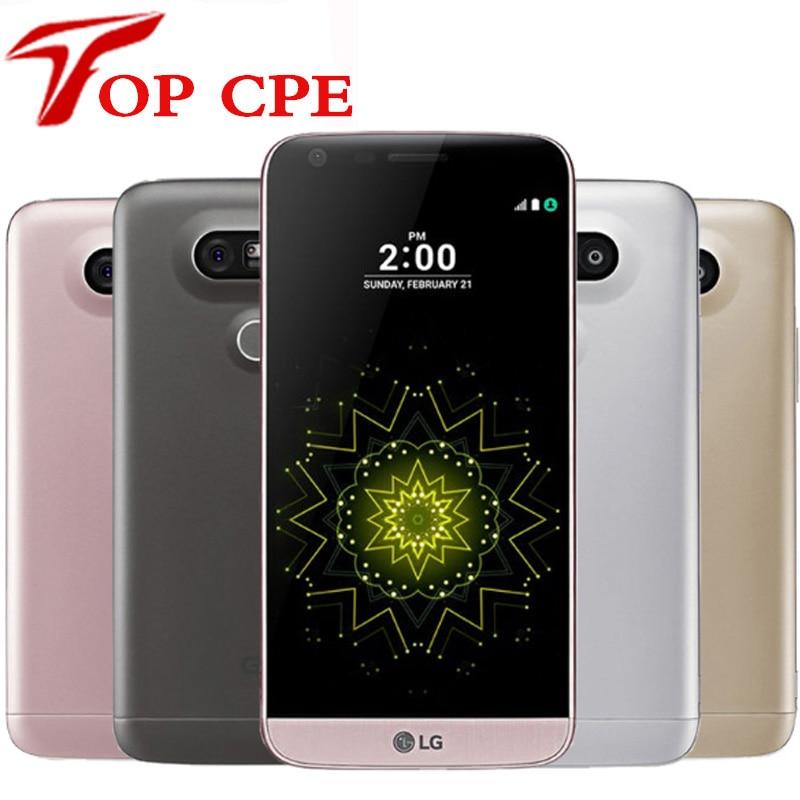 Abierto original lg g5 4g lte teléfono móvil quad core 4g ram 32g rom 5.3 ''. 0m