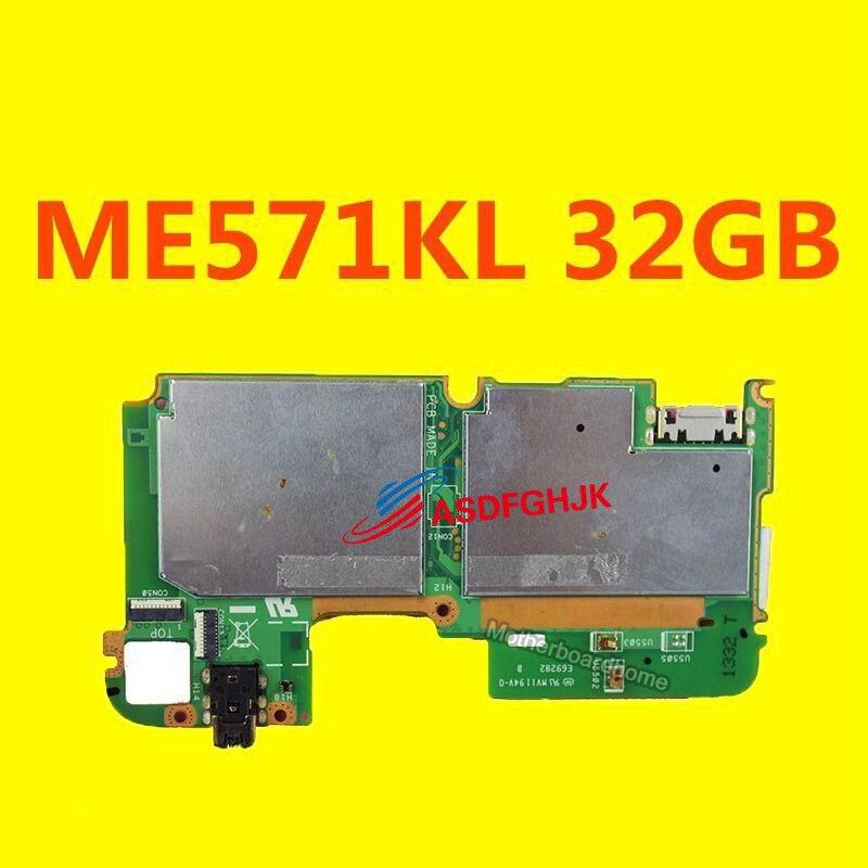 สำหรับ ASUS GOOGLE NEXUS 7 ME571KL 32 กิกะไบต์ K008 K009 LTE MAINBOARD LOGIC BOARD 4 กรัมเทลบอร์ดทดสอบ