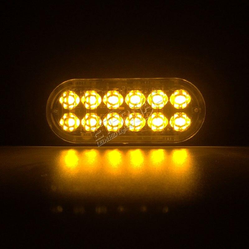 Купить с кэшбэком Free shipping 24W LED flash warning light emergency safety lamp for motorcycle 4x4 offroad pickup trucks lada niva Subaru