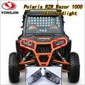 1pair black Left & Right Hand LED Headlight Kit 2014-2016 Polaris RZR XP 1000, 2015-2016 RZR 900, 2016 RZR XP TURBO