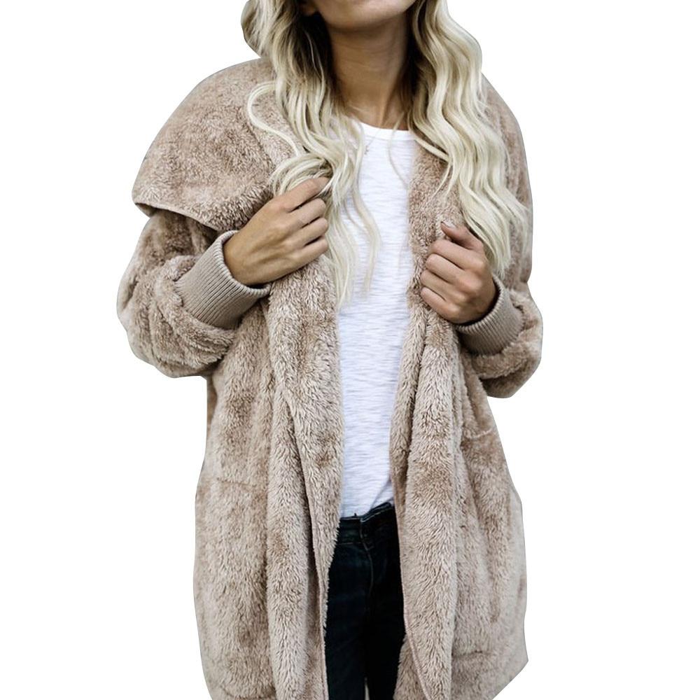 Aliexpress.com : Buy 2017 New Womens Fashion Winter Faux Fur Coat ...