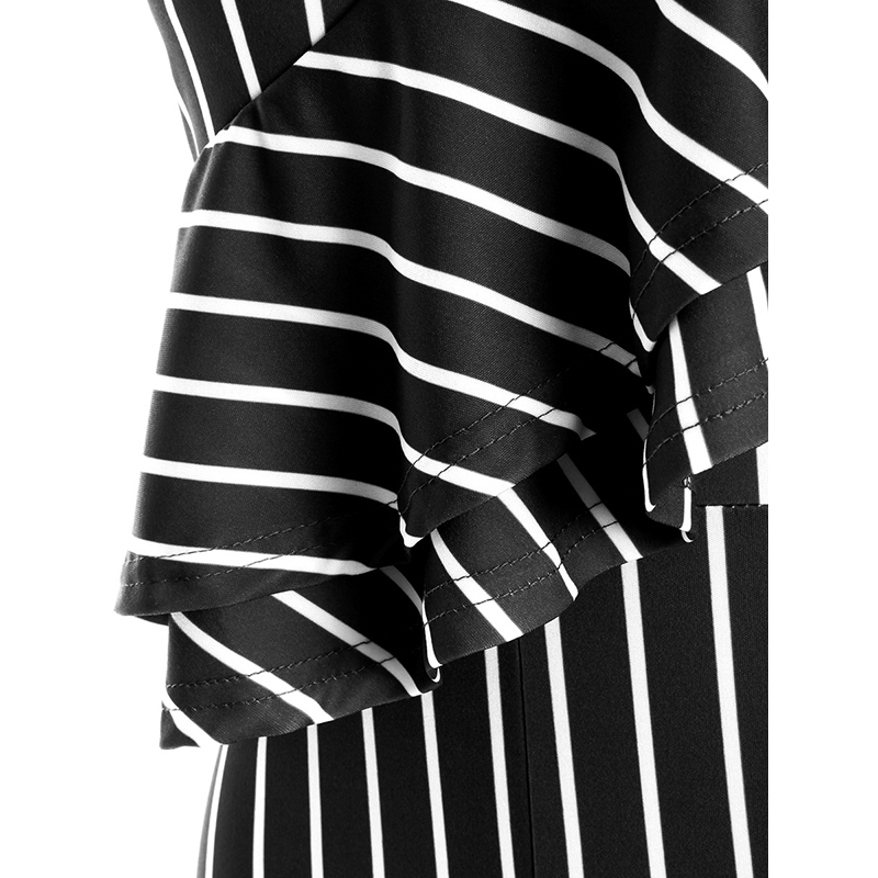 6b8af7a9330 Dream Vine New Black Blue Red Striped Jumpsuit for Women Summer One ...