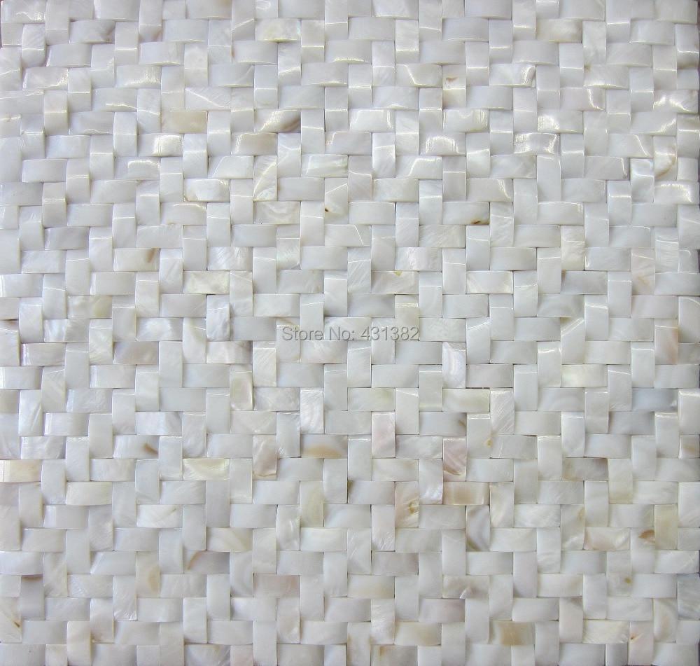 Mosaik Fliesen Perlmutt Weiss Mosaik Fliesen Badezimmer Gold Weiss