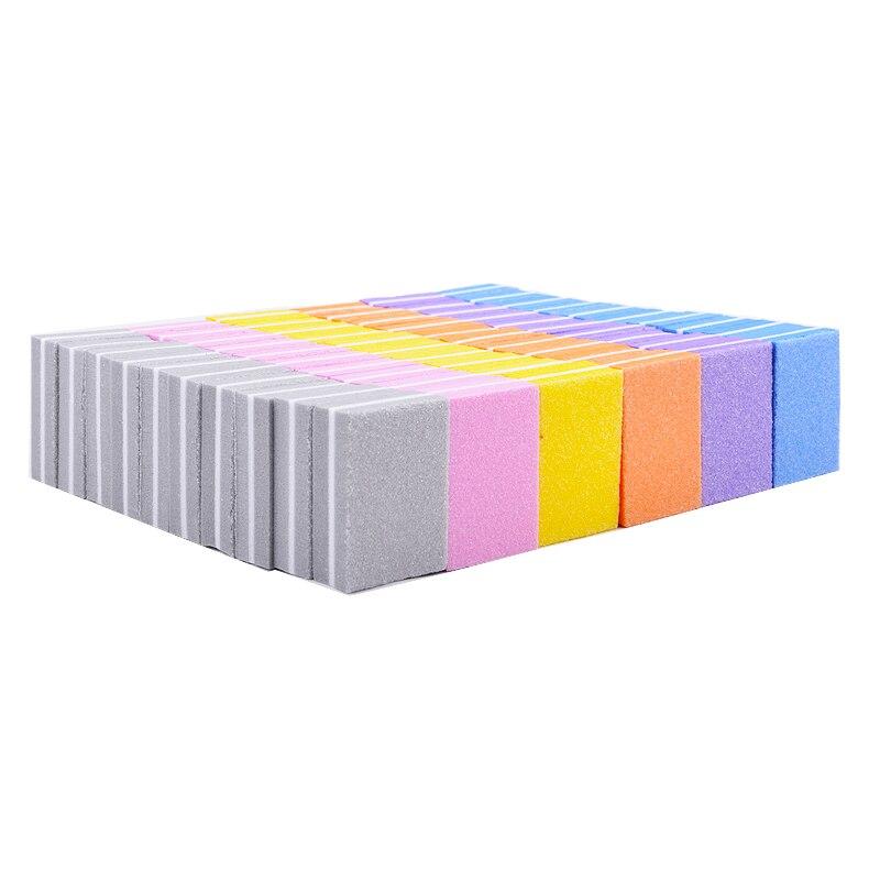 100 pçs arquivo de unha esponja 100