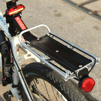 Bicycle Carrier Rack Seat Post Rear Shelf Aluminum Alloy Outdoor Cargo Racks With Quick Release