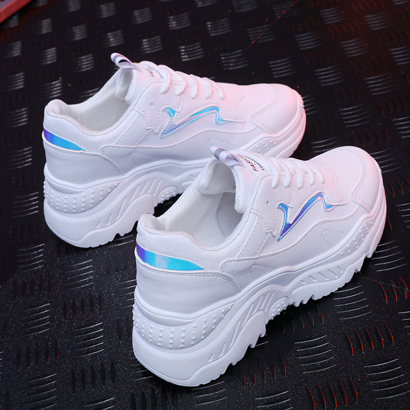 Women's shoes women's casual breathable comfortable sports shoes white spring and summer models mesh wild sneakers
