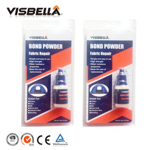 Visbella 2pcs Fabric Repair Bond Powder Pants Denim Bonding Hand Tool Sets glue Waterproof sealers for clothing curtains