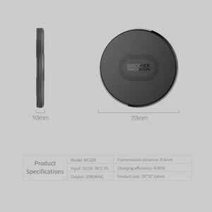 Image 5 - 10W Qi מטען אלחוטי Nillkin מהיר אלחוטי טעינה עבור iPhone 11 פרו/XR/XS מקסימום עבור Samsung s10 S9 בתוספת Note10 מטען Pad