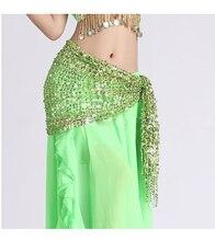 Selesa Pakaian Hip Scarf Belly Dance Tarian Dan Wanita Belly Belly Cantik Fringed Skirt Mengamalkan Pakaian Set Pakaian