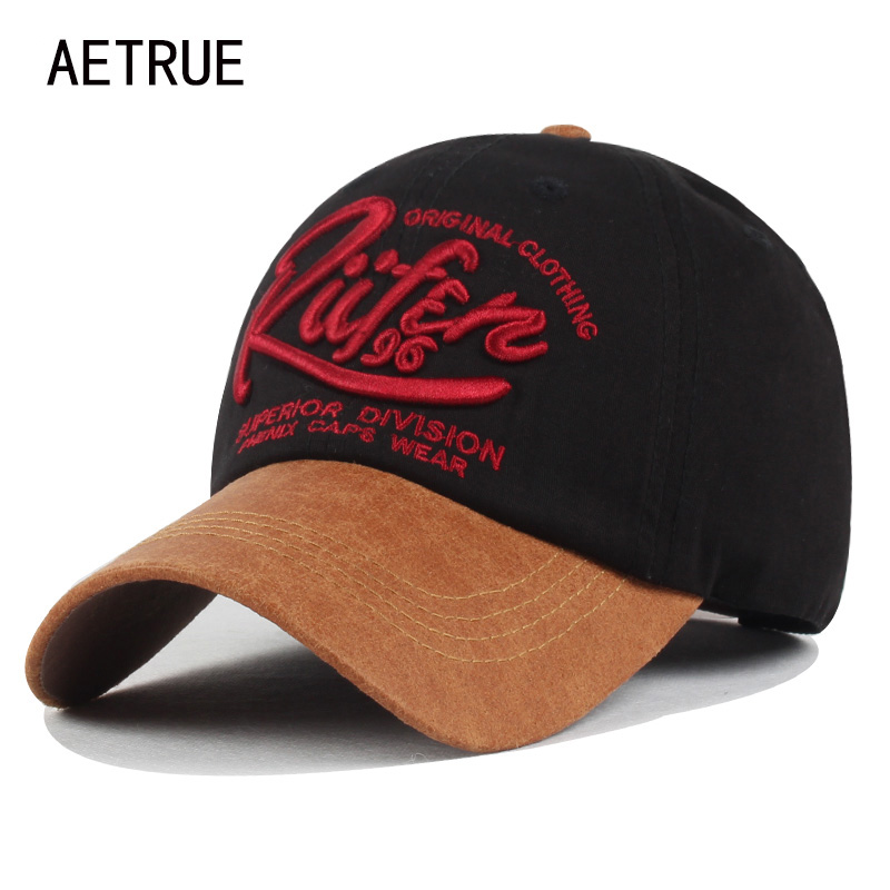 AETRUE Brand Men Snapback Women Baseball Cap Bone Hats For Men Casquette Dad Caps Fashion Gorras Adjustable Cotton Letter Hat fashion solid color baseball cap for men and women