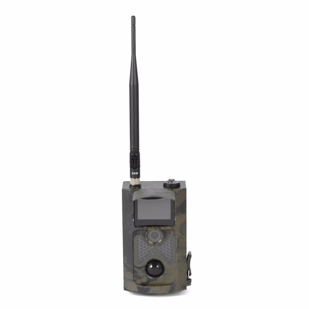 Worldwide HC500M HD GSM MMS GPRS SMS Control Scouting Infrared Trail Hunting Camera Wholesale Well Sell Drop Shipping 12mp trail camera gsm mms gprs sms scouting infrared wildlife hunting camera hd digital infrared hunting camera