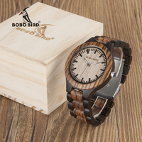BOBO BIRD N30 Small Size Ladies Wooden Watches New Full Wood Women Top Brand Luxury Design