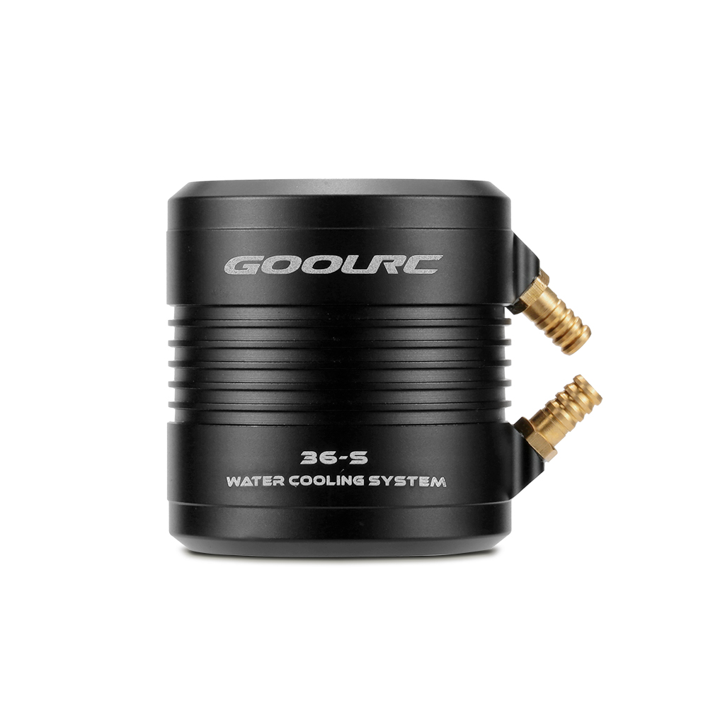 Original GoolRC Aluminum 36-S Water Cooling Jacket Cover for 3660 3670 RC Boat Brushless Motor