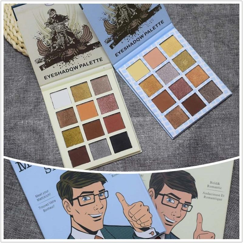 Makeup 9 Colors Meet Matt(e) Eye Shadow Palette Nude Matte Eyeshadow Pallete Make Up Cosmetics Natural Nude Balm Makeup Palette