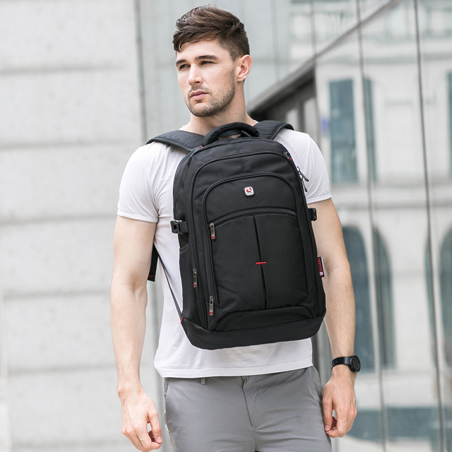 BALANG Brand 2019 nowe męskie casual plecaki wodoodporny 15,6 calowy plecak na laptopa USB duża pojemność plecak szkolny dla chłopców