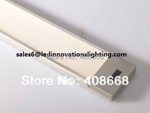 Free Shipping 400*40*9.5mm 4W 12VAC CRI80 By Door Touch LED Sensor Cabinet Light warmwhite Cold white Wholesales free shipping cri 90