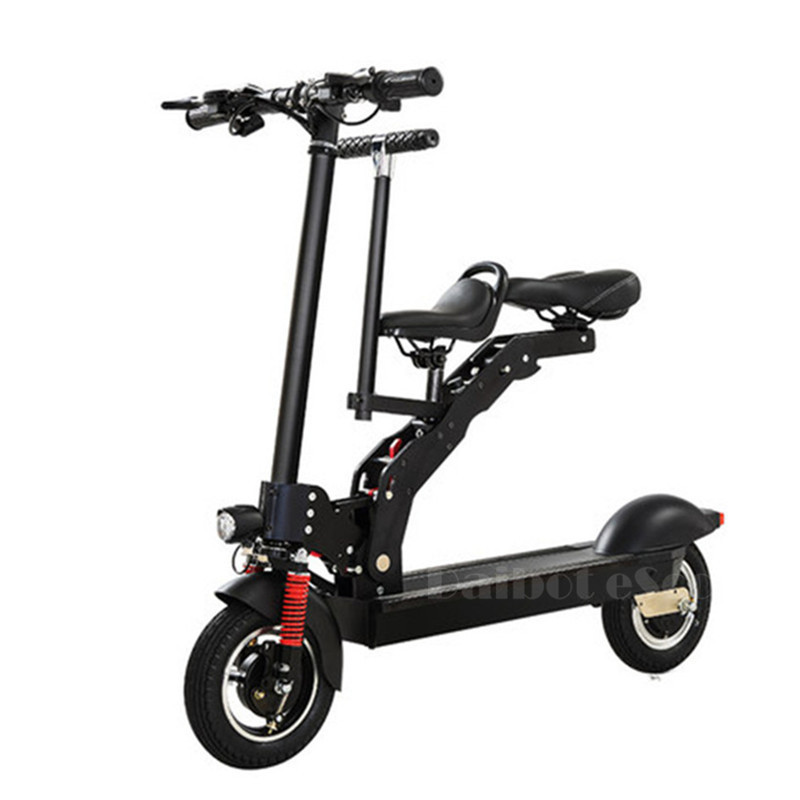 Daibot Electric Scooter With Seat For Kids Two Wheel Electric