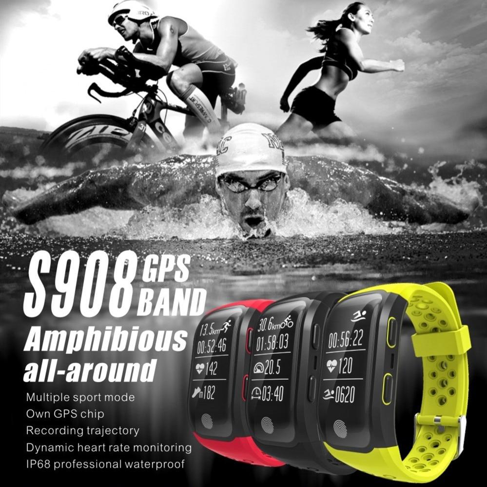 New GPS Tracker Wristband IP68 Waterproof Smart Bracelet Heart Rate Monitor Fitness Tracker Bluetooth Smart Sport BandNew GPS Tracker Wristband IP68 Waterproof Smart Bracelet Heart Rate Monitor Fitness Tracker Bluetooth Smart Sport Band
