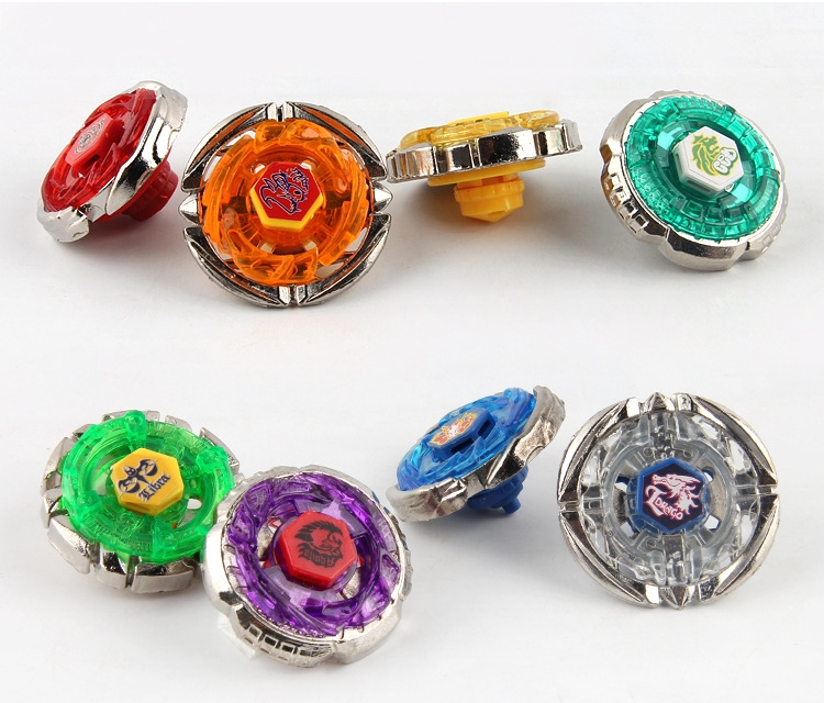 4pcs/set Beyblade Spinning Top Metal Fight Beyblad Bayblade burst With Launchers Metal Fusion Children Gifts Classic Toys Gift