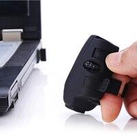 Mini Anel de Dedo PC Rato 2.4G USB Wireless Optical Mouse Para Laptop Com Fio Anel de Dedo Do Mouse Sem Fio Portátil