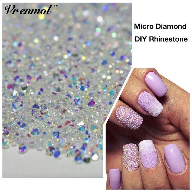 Aliexpress.com : Buy 1000PCS/Pack 3D Nail Art Tips Micro Diamond ...