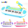Children Music Instructional Toys Electric Piano With Microphone Educational Toys for Kids Gifts