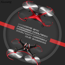 Niosung New Jjrc H22 3D inverted 2.4G 4CH 6-Axis RTF Headless Return Mini RC Quadcopter
